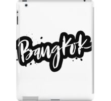 Bangkok Brush Lettering iPad Case/Skin