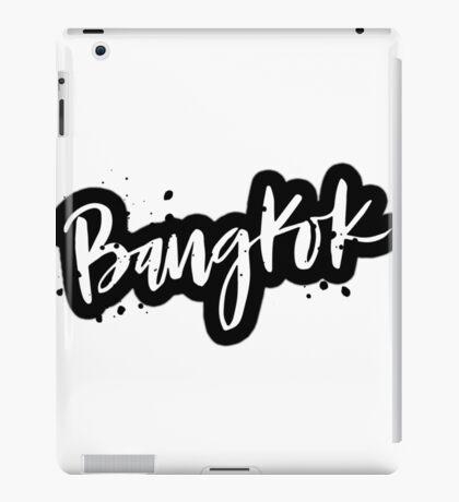 Bangkok Brush Lettering iPad Case/Skin