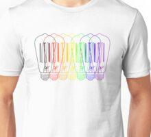 Rainbow Bulbs Unisex T-Shirt