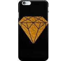 Gold Diamond iPhone Case/Skin
