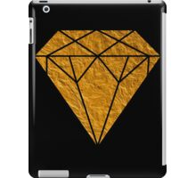 Gold Diamond iPad Case/Skin