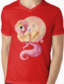 Flutter Love V2 Mens V-Neck T-Shirt