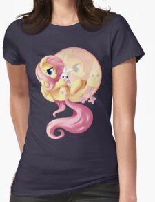 Flutter Love V2 Womens Fitted T-Shirt