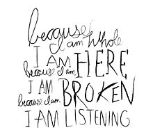 I am Listening (Poetry) by aigarcia