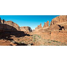 Park Avenue – Arches National Park, Utah Photographic Print