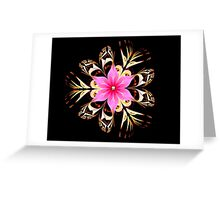 Tropical Blossom Greeting Card