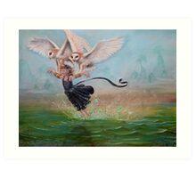 Glide Art Print