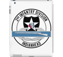 2nd Infantry CIB iPad Case/Skin