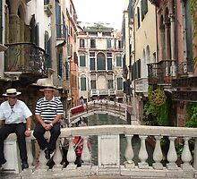 The Gondoliers by Trevor Needham