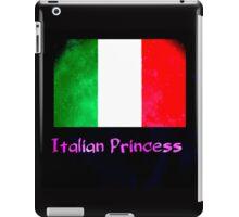 Italian princess flag iPad Case/Skin