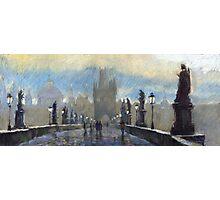 Prague Charles Bridge 06 Photographic Print