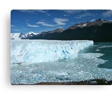 Patagonia, the Perito Moreno glacier Canvas Print