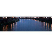 Arno river Photographic Print
