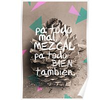 Mezcal agave prints, pillows and phone cases  Poster