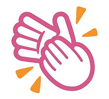 Clapping Hands Sign Google Hangouts / Android Emoji by emoji