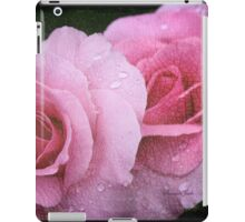 Raindrops on Roses ~ Yesterday's Tears iPad Case/Skin