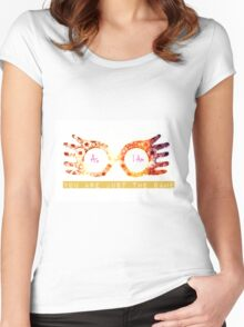 harry potter luna lovegood Women's Fitted Scoop T-Shirt