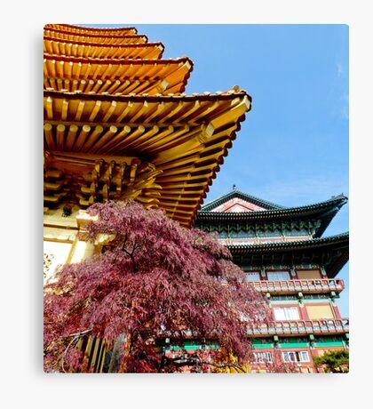 Korean Temples Canvas Print