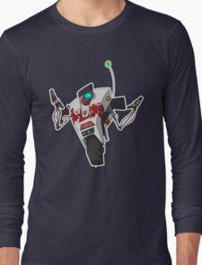 Dr. Zed's Claptrap Sticker Long Sleeve T-Shirt