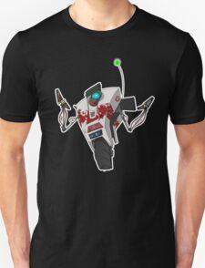 Dr. Zed's Claptrap Sticker Unisex T-Shirt