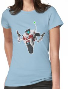 Dr. Zed's Claptrap Sticker Womens Fitted T-Shirt