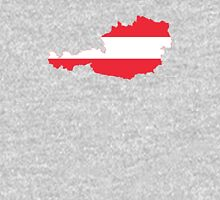Austria Flag Map Unisex T-Shirt