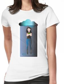 Be the Rain Womens Fitted T-Shirt