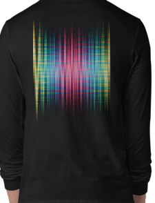High Frequency Psychedelic Rainbow Color Waves Long Sleeve T-Shirt