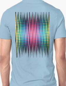 High Frequency Psychedelic Rainbow Color Waves Unisex T-Shirt