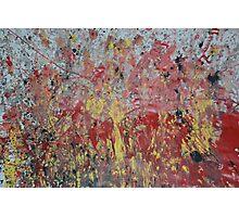 Messy Art  Photographic Print