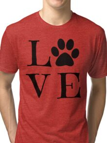 Puppy Love  Tri-blend T-Shirt