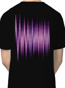 High Energy Lavender Waves Classic T-Shirt
