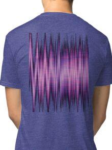 High Energy Lavender Waves Tri-blend T-Shirt