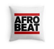 AFROBEAT Throw Pillow