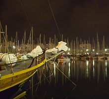 Barcelona Marina 2 by Paul Thompson Photography