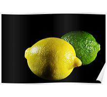 Lemon and Lime Poster