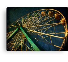 ferris wheel galaxy Canvas Print
