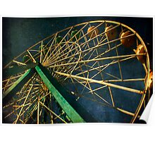 ferris wheel galaxy Poster