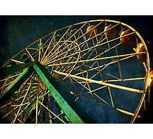 ferris wheel galaxy Photographic Print