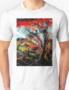 sacred tree...mythical boy's flash appearance Unisex T-Shirt