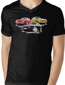 Ford Capri Collection Mens V-Neck T-Shirt