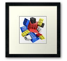 Picasso Toy Bricks Framed Print