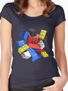Picasso Toy Bricks Women's Fitted Scoop T-Shirt