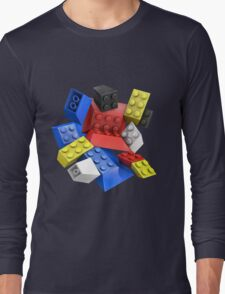 Picasso Toy Bricks Long Sleeve T-Shirt