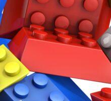 Picasso Toy Bricks Sticker