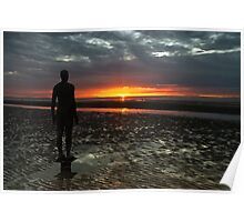 'Another Place', Crosby Beach Poster