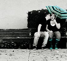 Bench Kiss by Avonlea
