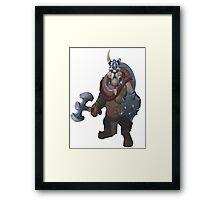 Tusk - Dota 2 Framed Print