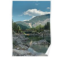 Rafting the Flathead River Poster