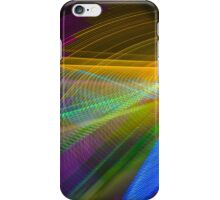 Abstract Colours Long Exposure Phone Art 1 iPhone Case/Skin
